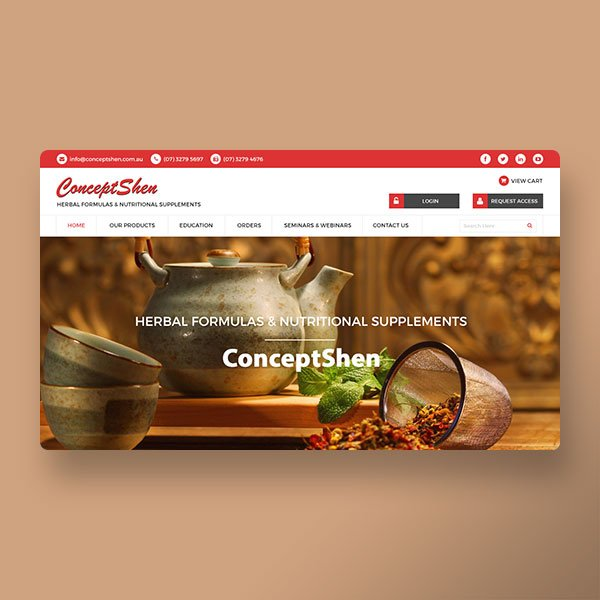 Herbal Products Website
